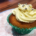 Vanilla Cupcakes with White Chocolate Frosting…