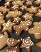 Gingerbread Biscuits…