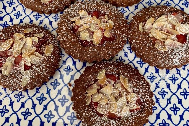 French Inspired Fruit Tarts…