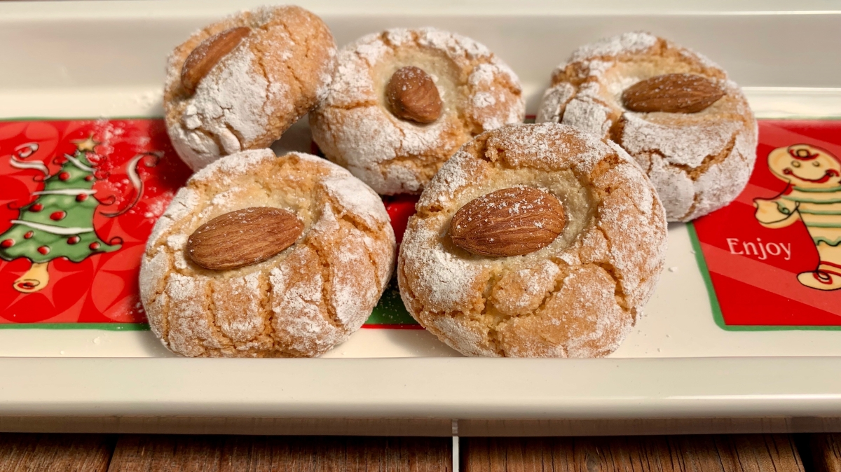 Italian Almond Biscuits…