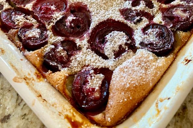 Cherry Clafoutis…
