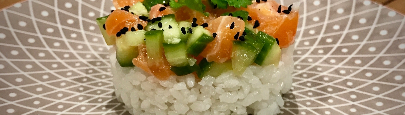 Spicy Salmon Stacks
