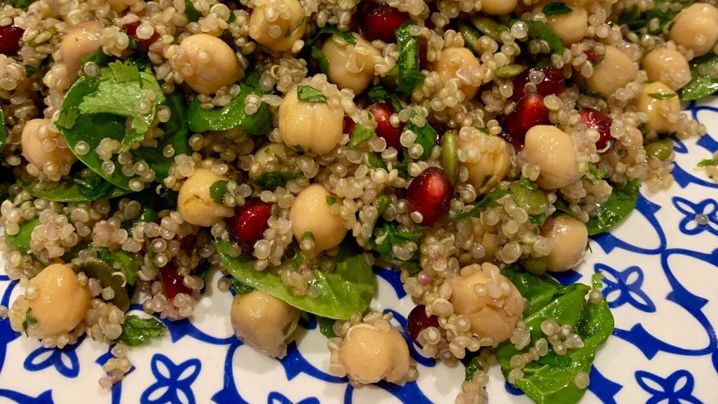Chickpea and Quinoa Salad