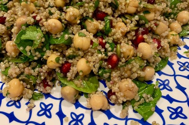 Chickpea & Quinoa Salad…