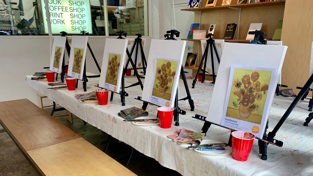 Sip & Paint with Classe Petit